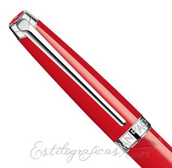 Capuchón Caran d'Ache Léman Scarlet Red