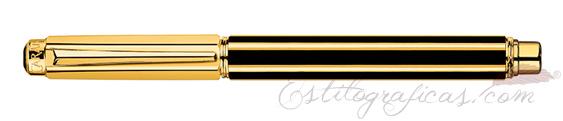 Vista Caran d'Ache Varius Chinablack Gold