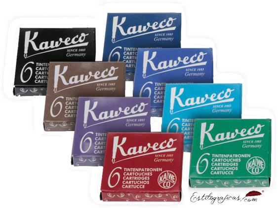 Cartuchos de Tinta Kaweco, cartuchos universales