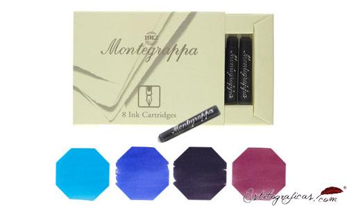 Cartuchos de tinta Montegrappa, cartuchos universales IA00C0EB
