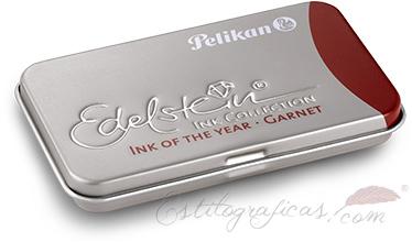 Cartuchos de tinta Edelstein Garnet para estilográficas Pelikan 339648