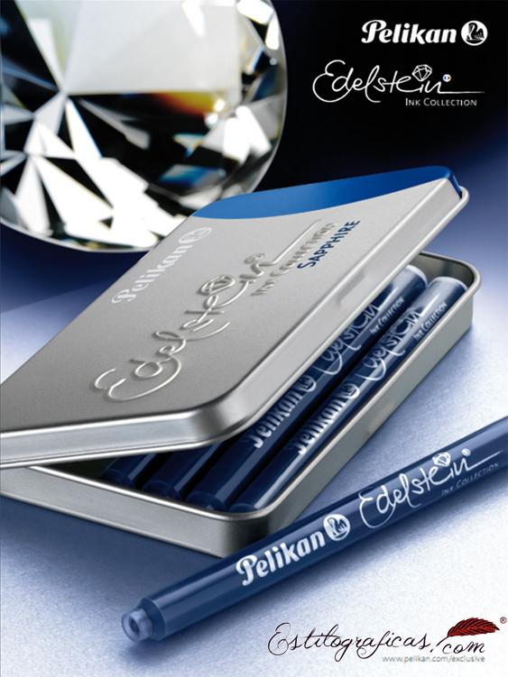 Cartel publicitario de los cartuchos Pelikan