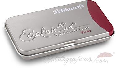 Cartuchos Edelstein con tinta Ruby o rubí de Pelikan 339663