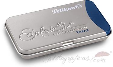 Cartuchos de tinta violeta topacio de la gama Edelstein de Pelikan 339655