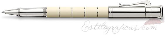 Roller Graf von Faber-Castell Clásica Anello Marfil