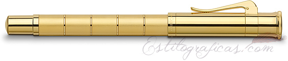 Pluma Estilográfica Graf von Faber-Castell Clásica Anello Oro