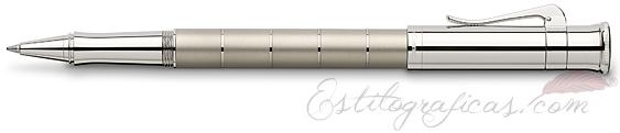 Roller Graf von Faber-Castell Clásica Anello Titanio