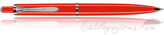 Bolígrafo Classic K205 Rojo y Plata