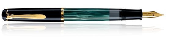 Estilográfica Pelikan Classic M 200 Verde Marmol