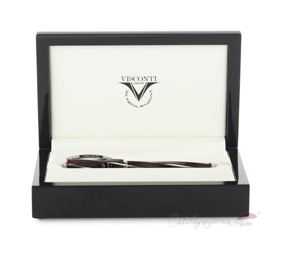 Estuche de presentación de la colección Visconti Divina Elegance