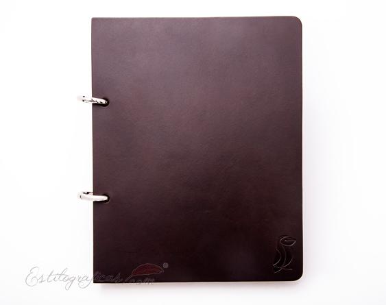 Cuaderno Captain Scott A5+ Chocolate