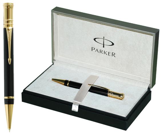 Caja regalo Bolígrafo Parker Duofold Black GT