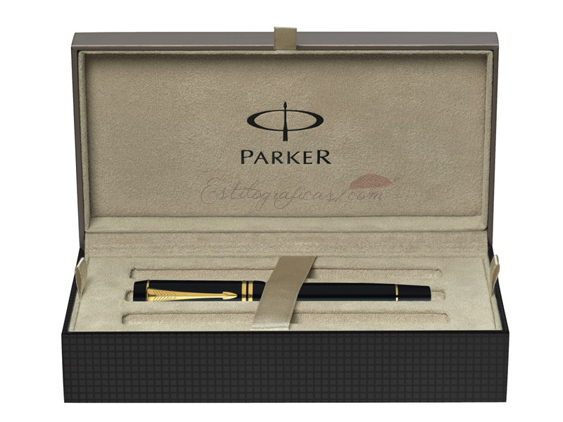 Caja regalo Parker Duofold Black PT International
