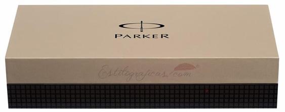 Caja regalo Roller Parker Duofold Black GT