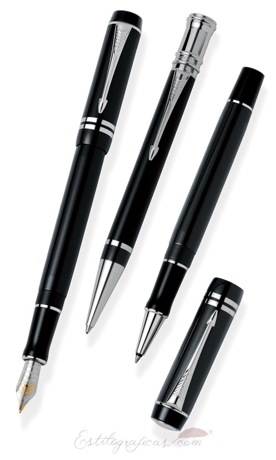 Parker Duofold Black PT International