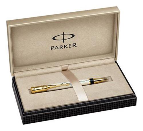 Estuche Bolígrafo Parker Duofold Pearl & Black