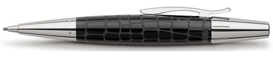 Portaminas Faber-Castell E-Motion Croco Negro 138350