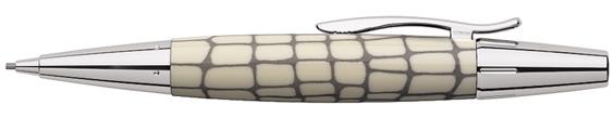 Portaminas Faber-Castell E-Motion Croco Marfil 138352