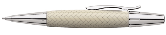 Portaminas Faber-Castell E-Motion Trenzado Marfil 138353