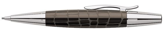 Portaminas Faber-Castell E-Motion Croco Marrón 138354