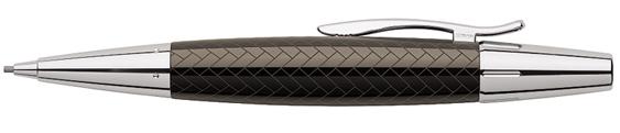 Portaminas Faber-Castell E-Motion Trenzado Marrón 138355
