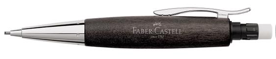 Portaminas Faber-Castell E-Motion Madera de Peral Negro 138383