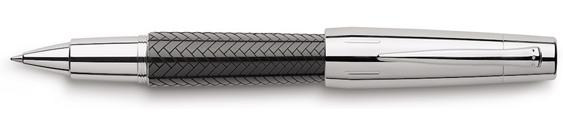 Rollerball Faber-Castell E-Motion Trenzado Negro 148245