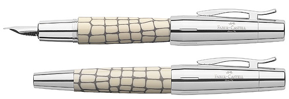 Estilográfica Faber-Castell E-Motion Croco Marfil 148250