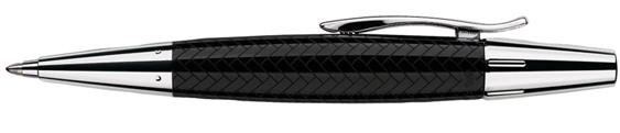 Bolígrafo Faber-Castell E-Motion Trenzado Negro 148351
