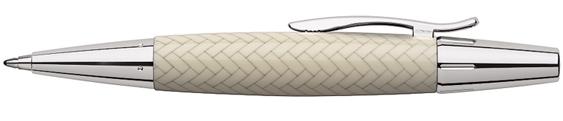 Bolígrafo Faber-Castell E-Motion Trenzado Marfil 148353