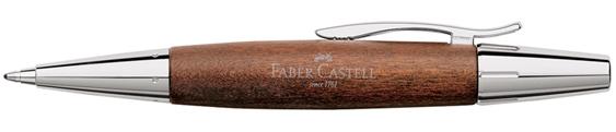Bolígrafo Faber-Castell E-Motion Madera de Peral Marrón 148382