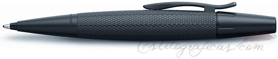 Bolígrafo Faber-Castell E-Motion Pure Black 148690