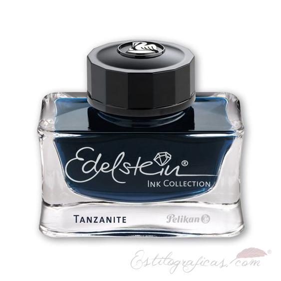 Tintero Edelstein Tanzanite 50 ml azul - negro