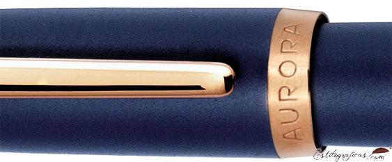 Detalle del diseño de la Aurora Style resina mate azul GT