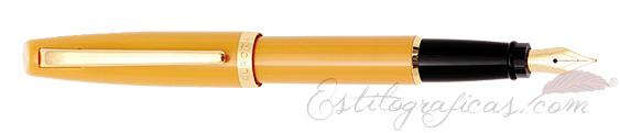Pluma Estilográfica Aurora Style Mostaza E12-S