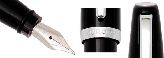 Diseño y plumín de la Aurora Style pimienta negra