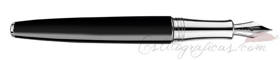 Pluma Estilográfica Caran d'Ache Léman Bicolor Black 4799-289