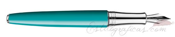 Pluma Estilográfica Caran d'Ache Léman Bicolor Turquoise 4799-171