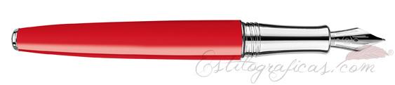 Pluma Estilográfica Caran d'Ache Léman Scarlet Red 4799-770