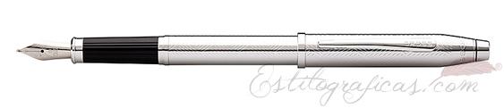 Estilografica Cross Century II Cromo Espigado Edición Especial 2013
