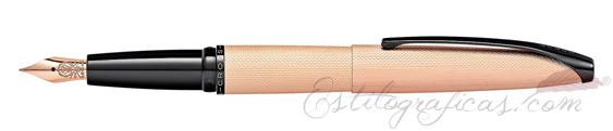 Pluma Estilográfica Cross ATX Oro Rosa Cepillado 886-42FF