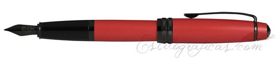 Estilográfica Cross Bailey Rojo Mate AT0456-21MJ