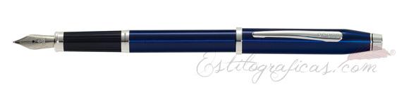 Estilografica Cross Century II Laca Azul Translúcido AT0086-103