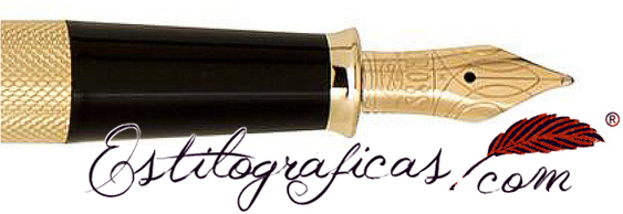 Plumín de pluma estilográfica Cross Townsend 20 aniversario oro