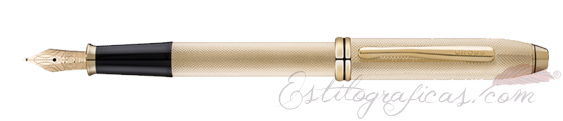 Pluma estilográfica Cross Townsend 20th anniversary oro AT0046B-32