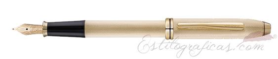 Pluma estilográfica Cross Townsend 20th anniversary oro AT0046B-32