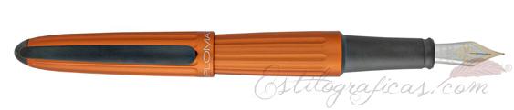 Pluma Estilográfica Diplomat Aero Orange 14 K D40302013