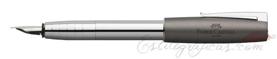 Pluma estilográfica Faber-Castell Loom Gris Metálico 149100