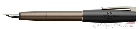 Pluma estilográfica Faber-Castell Loom Gunmetal Mate 149260
