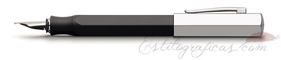 Pluma Estilográfica Faber-Castell Ondoro Grafito 147810